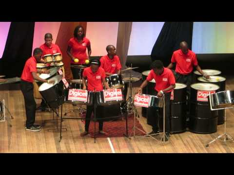 Parkside jazz at Guyana Panorama 2014 - Theme from Black Orpheus