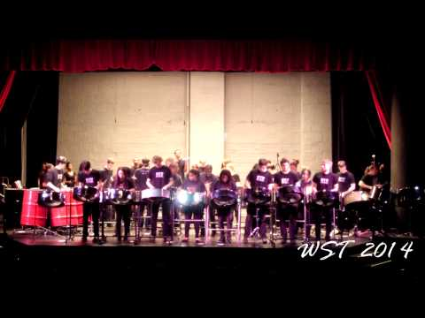 "NYU Steel with CrossFire Steel Orchestra performs ""Leh Go"""
