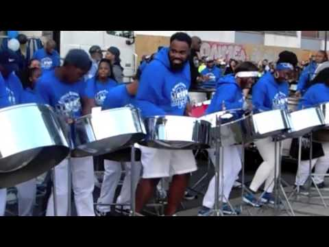 London/UK National Steelband Panorama 2014 - video - Metronomes