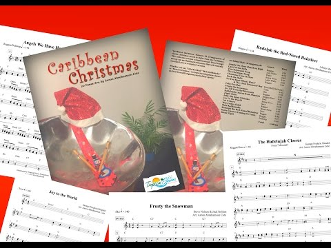 Caribbean Christmas - Steel Pan Book/Tracks