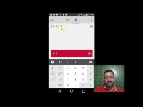 Photomath: Aplicación para resolver ejercicios de matemática