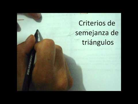 Criterios de semejanza.wmv