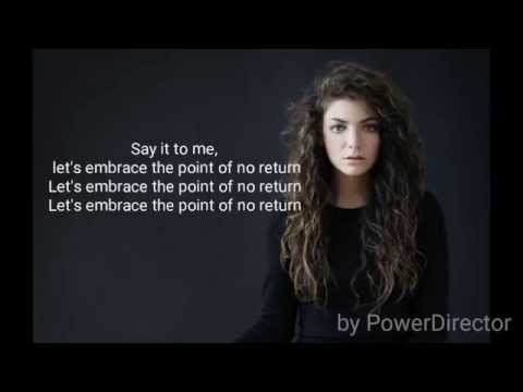 Disclosure - Magnets feat Lorde Lyrics vevo