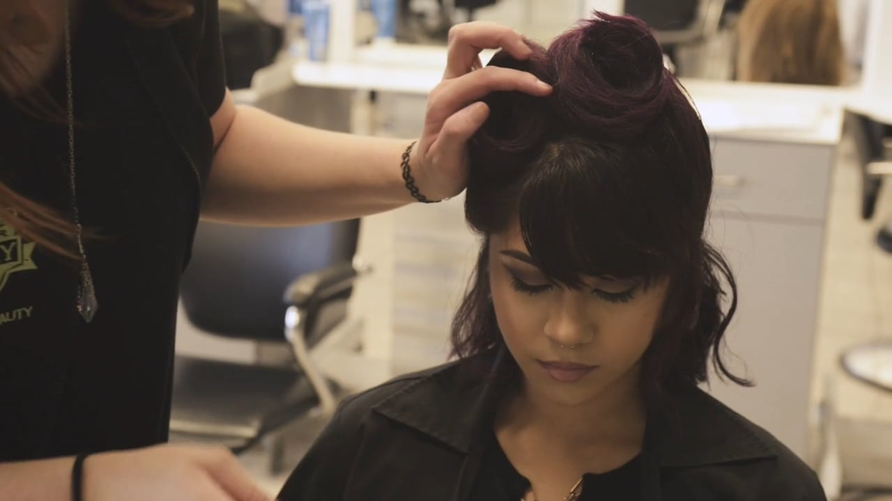 EFA Quick Tips: How To Create a Retro Style Using Victory Rolls