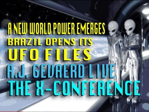 A New World Power Emerges for UFO Disclosure - A.J. Gevaerd LIVE at The X-Conference