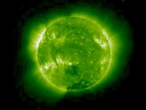 UFO's orbiting the Sun April 15, 2011 - Each object is Earth size of larger....April 15, 2011
