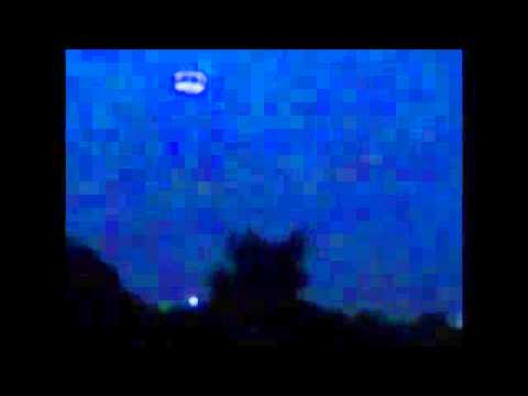 UFO Over England Comes Down In Small Village To Pick Up Glowing Orb.
