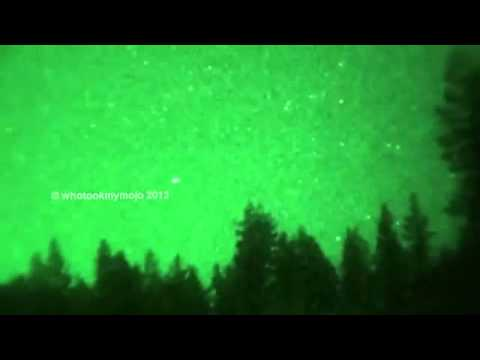 Spectacular UFO over Oregon August 26, 2013