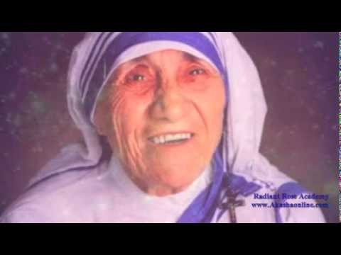 A beautiful gift and heartfelt message from the Ascended Mother Teresa ♥