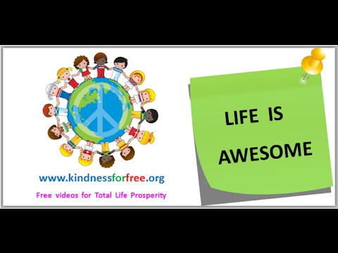 Life is Awesome - Astonishing fact about your self