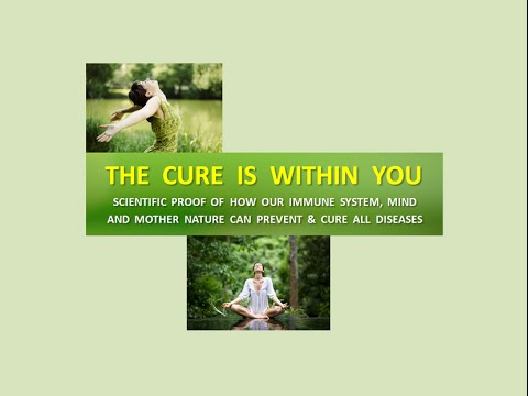 THE CURE IS WITHIN YOU - 1