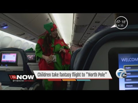 "Children take fantasy flight to the ""North Pole""2016"