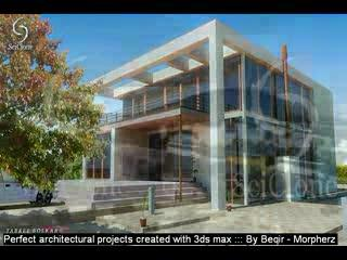 3D architectural, designing with 3ds max,perfect projects