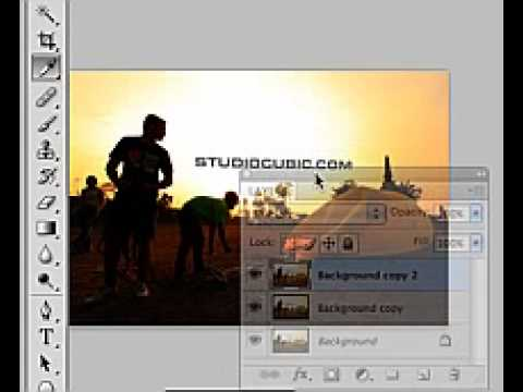 Photoshop : ภาพ Perspective ย้อนแสง