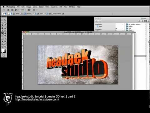 HAS tutorial | create 3D text | part 2.mp4