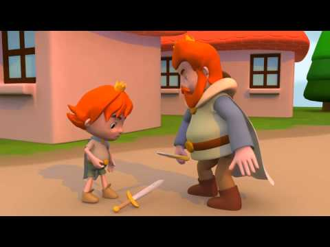 Art Thesis 3D Animation - Two-edged sword