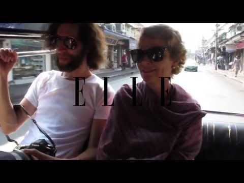 Jessica Pitti Behind-the-Scenes ELLE Italy in Thailand