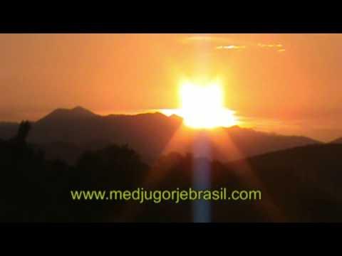 milagre do sol dia 1 de maio de 2012 em Medjugorje