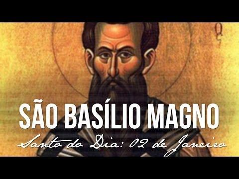 02 de Janeiro / Santo do Dia - São Basílio Magno