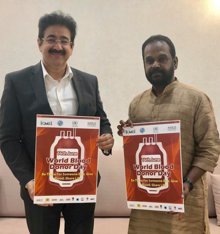 World Blood Donors Day Observed at AAFT