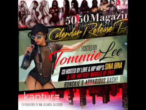 Feb 9th 2017 50/50 Magazine Release Party @Kapture