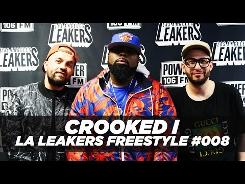 Crooked I Freestyle With The LA Leakers | #Freestyle008