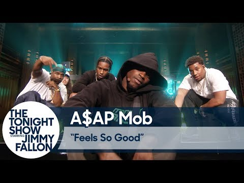 A$AP Mob: Feels So Good On The Tonight Show Starring Jimmy Fallon