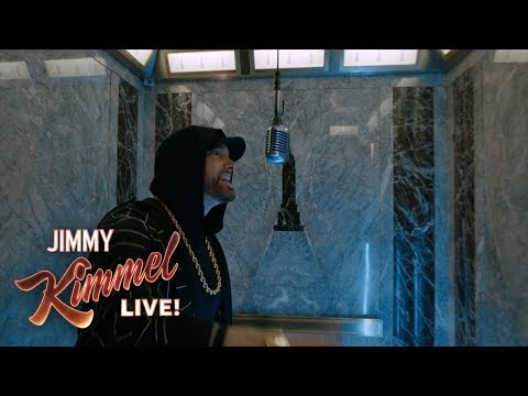 """Eminem Performs """"Venom"""" from the Empire State Building! Presented by Google Pixel 3"""