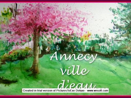 VILLE D' EAU ANNECY