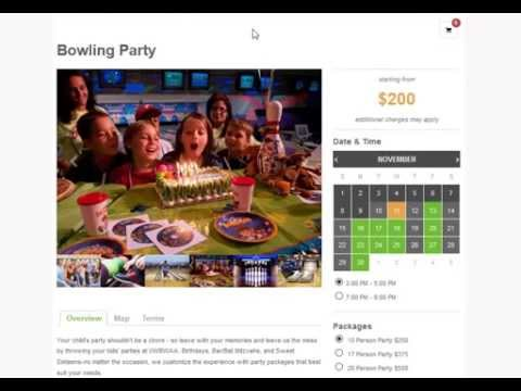 Online Reservations Sofware for Bowling