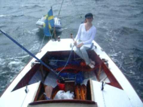 Folkbåtssegling på Mysingen 2007