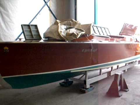 Cris Craft V8 1931, JP III startar upp