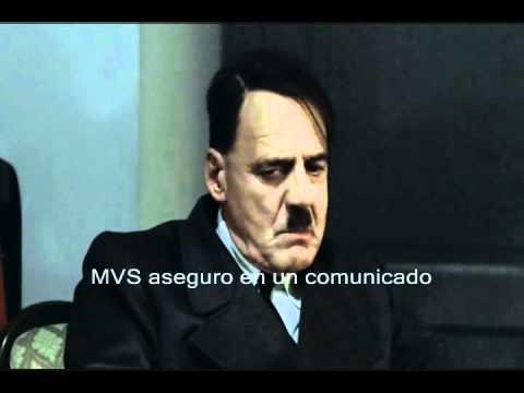 Hitler se entera de que Aristegui sale del aire