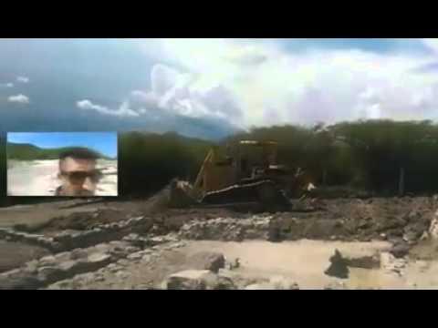 Destruyen Zona Arqueologica de Tlaltizapán @OxlackCastro