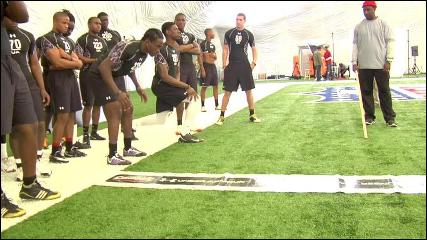 Under Armour High School Combine Part 1