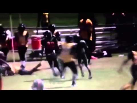 Alex Andre Cfaa Mustangs 2014 Highlight tape