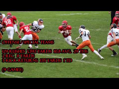 CLASS OF 2021: #3 ISIAH RICO-GRAY 2017 PARKLAND (PA) HIGH SCHOOL HIGHLIGHTS RUNNING BACK (FRESHMAN)