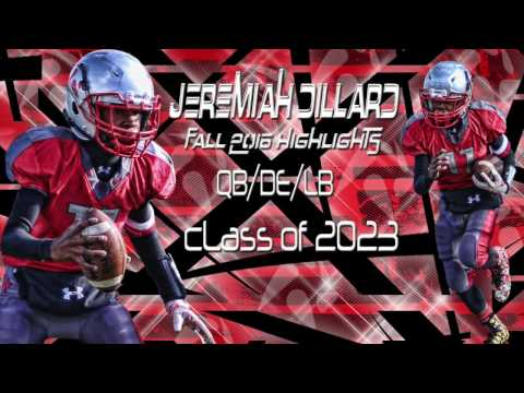Jeremiah Dillard 2016 Highlights