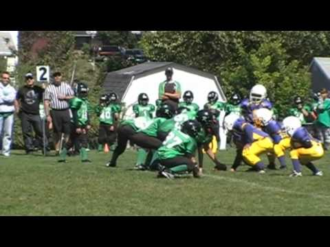 James Cooper Jr.  2010 7 year old quarterback Highlights