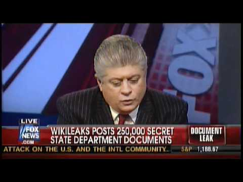 Judge Napolitano - WikiLeaks State Department Document Dump