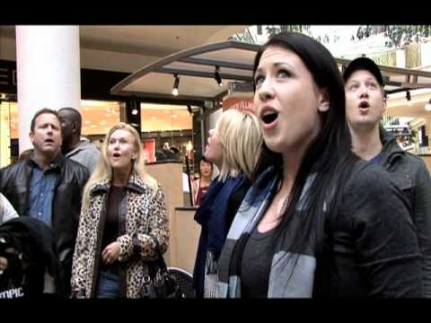 Flash Mob by Journey of Faith at Galleria - official video