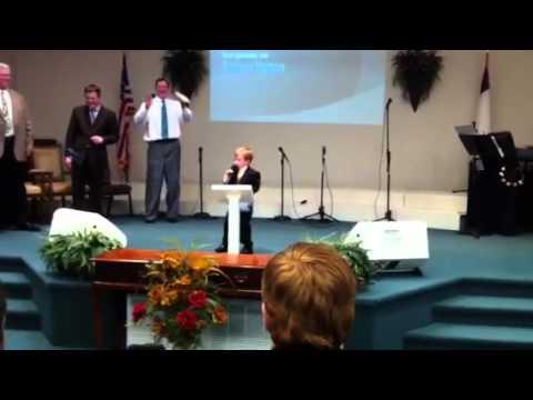 Baby Preacher Preaches Again!