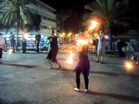 MOV05586.AVIHolahoop fire dance by israelies group.