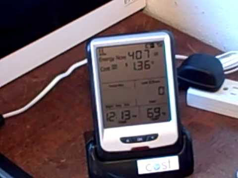 How to Install a Home Electric Power Meter - ENVI II (2 of 2)