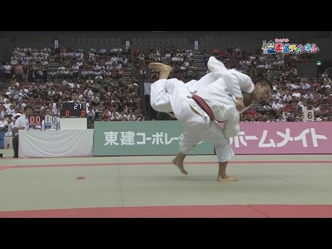 Men's Final Nittaidai Ebara high school vs Kokushikan high school] 2016 fiscal gold eagle flag high school judo tournament