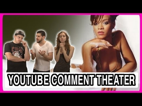 Rihanna Hits Fan With Microphone - YouTube Comment Theater