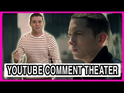 Eminem - Not Afraid - YouTube Comment Theater