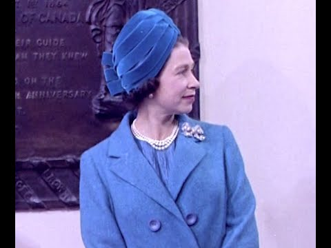 The Queen's Hats | British Pathé