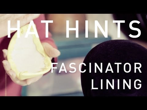 How To Make Hats - Fascinator Lining