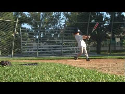 """Baseball Batting Practice with 5 Year Old Brody Connors-""""VERY DUDE"""""""